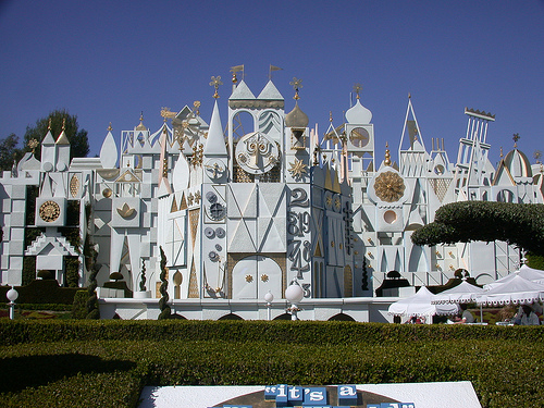small world disneyland anaheim california